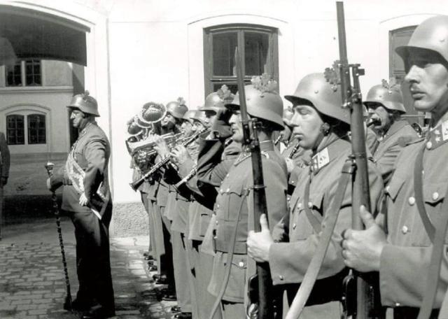 Austrian soldier 1958