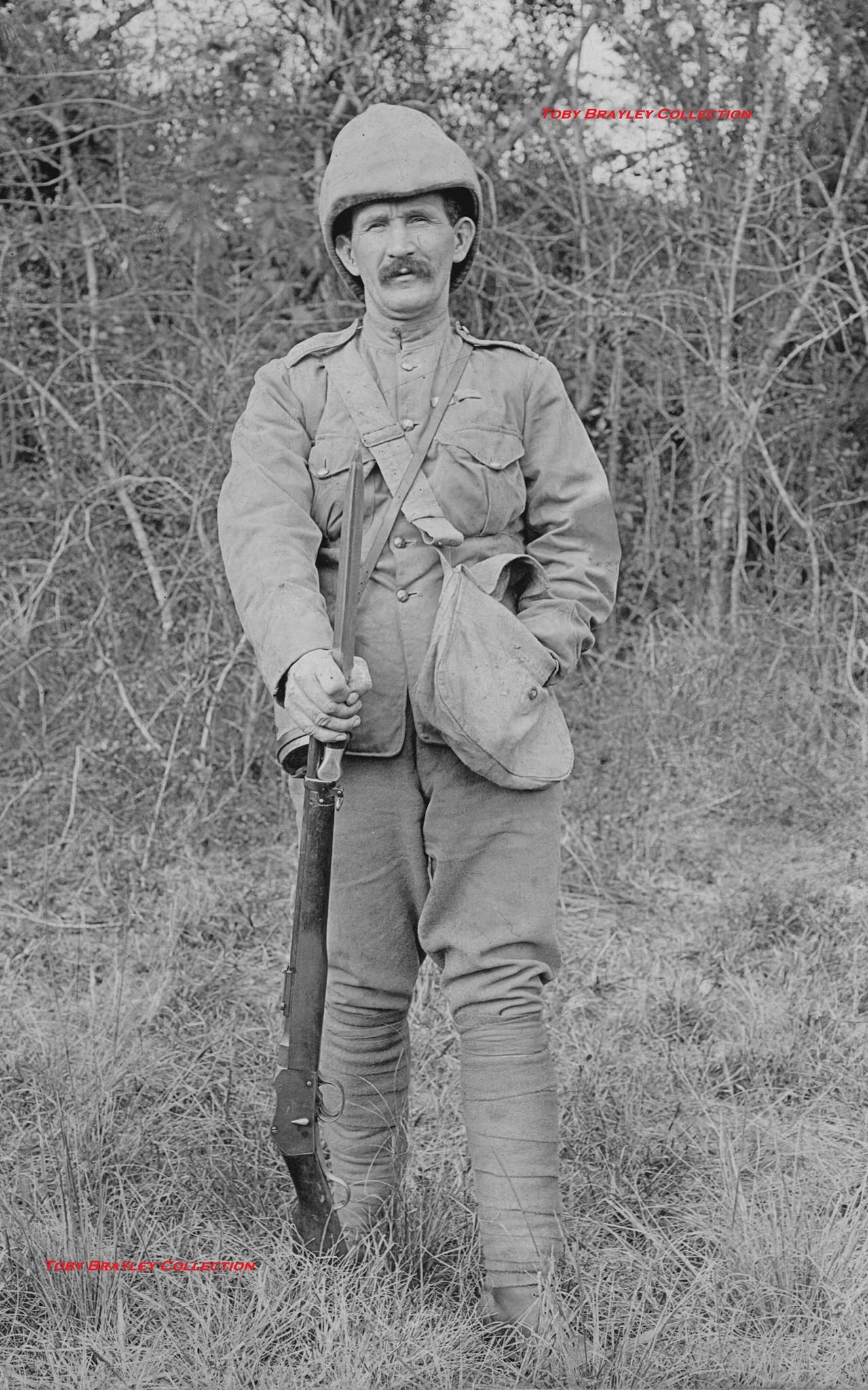 British artilleryman with 1888?