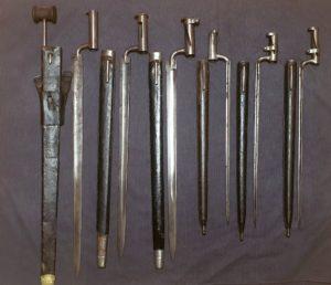 Austrian socket bayonets