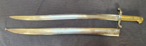 M1842 Mutzig bayonet