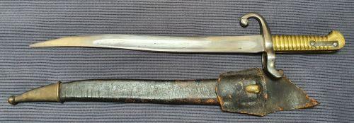 French miniature bayonet