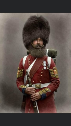 English soldier 19th century