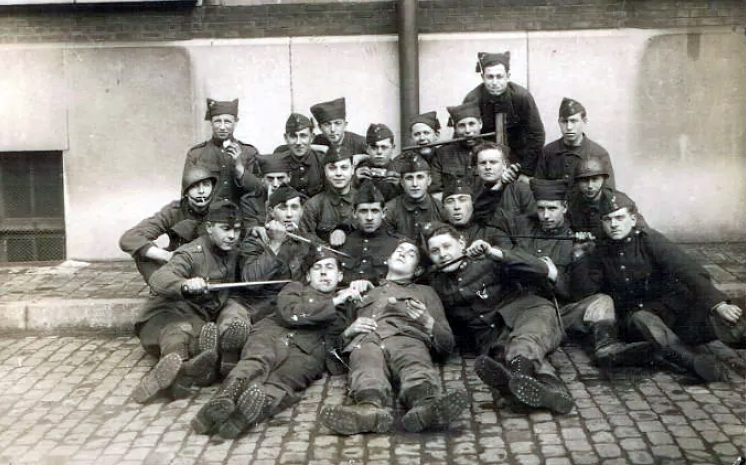 French or Belgian soldiers WWI