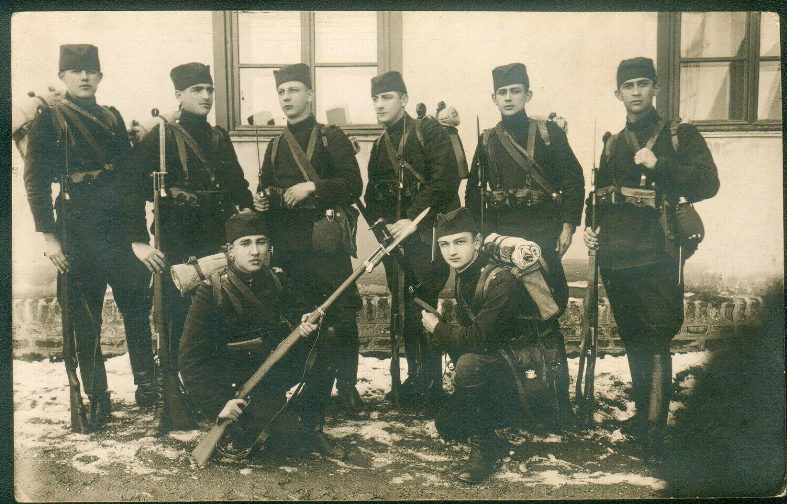 Serbian soldiers WWI