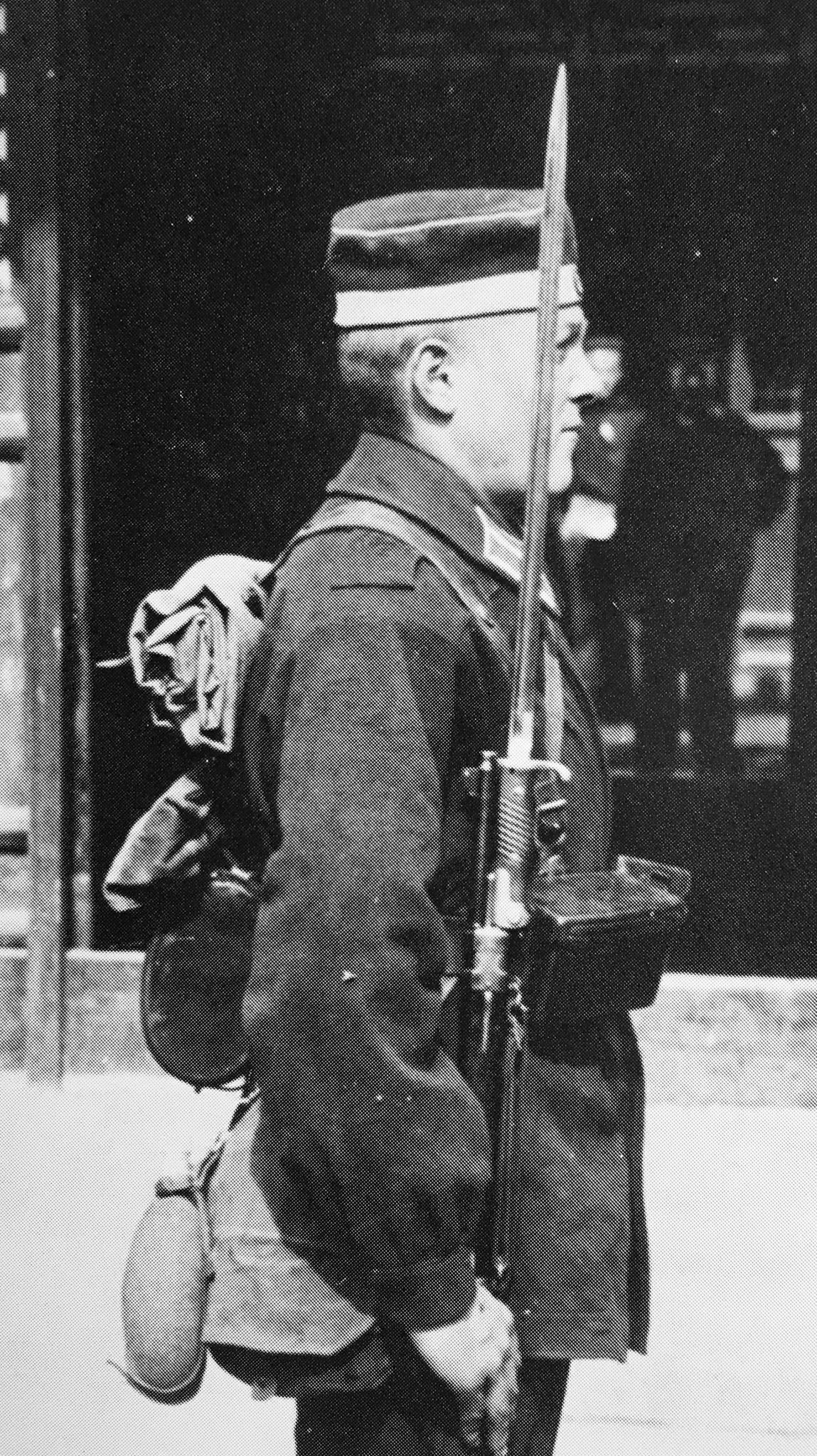 German expedition force in China with Mauser 98