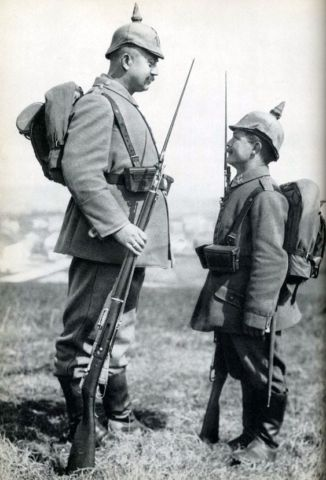 Big and small Prussian