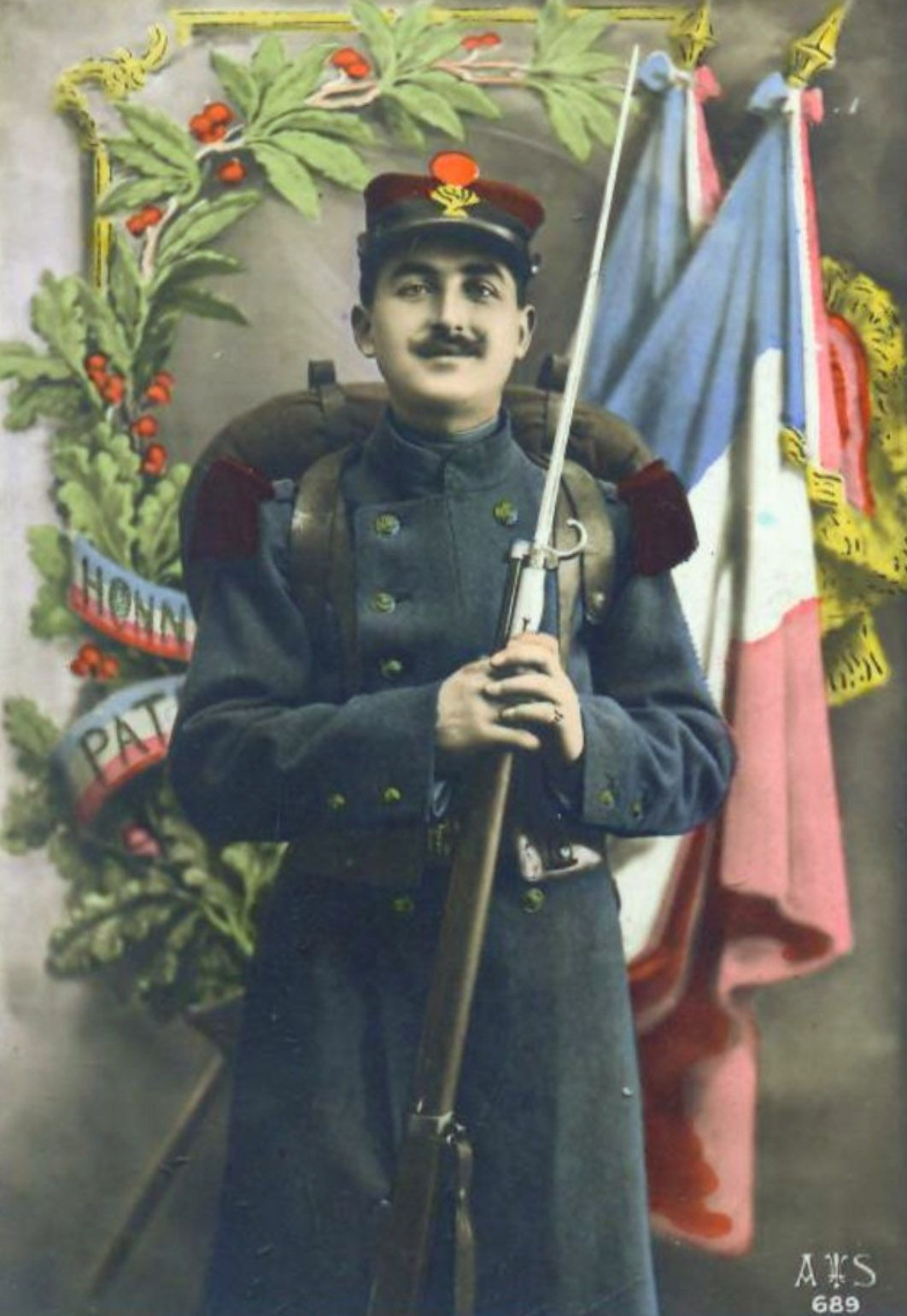 French with Lebel, patriotic