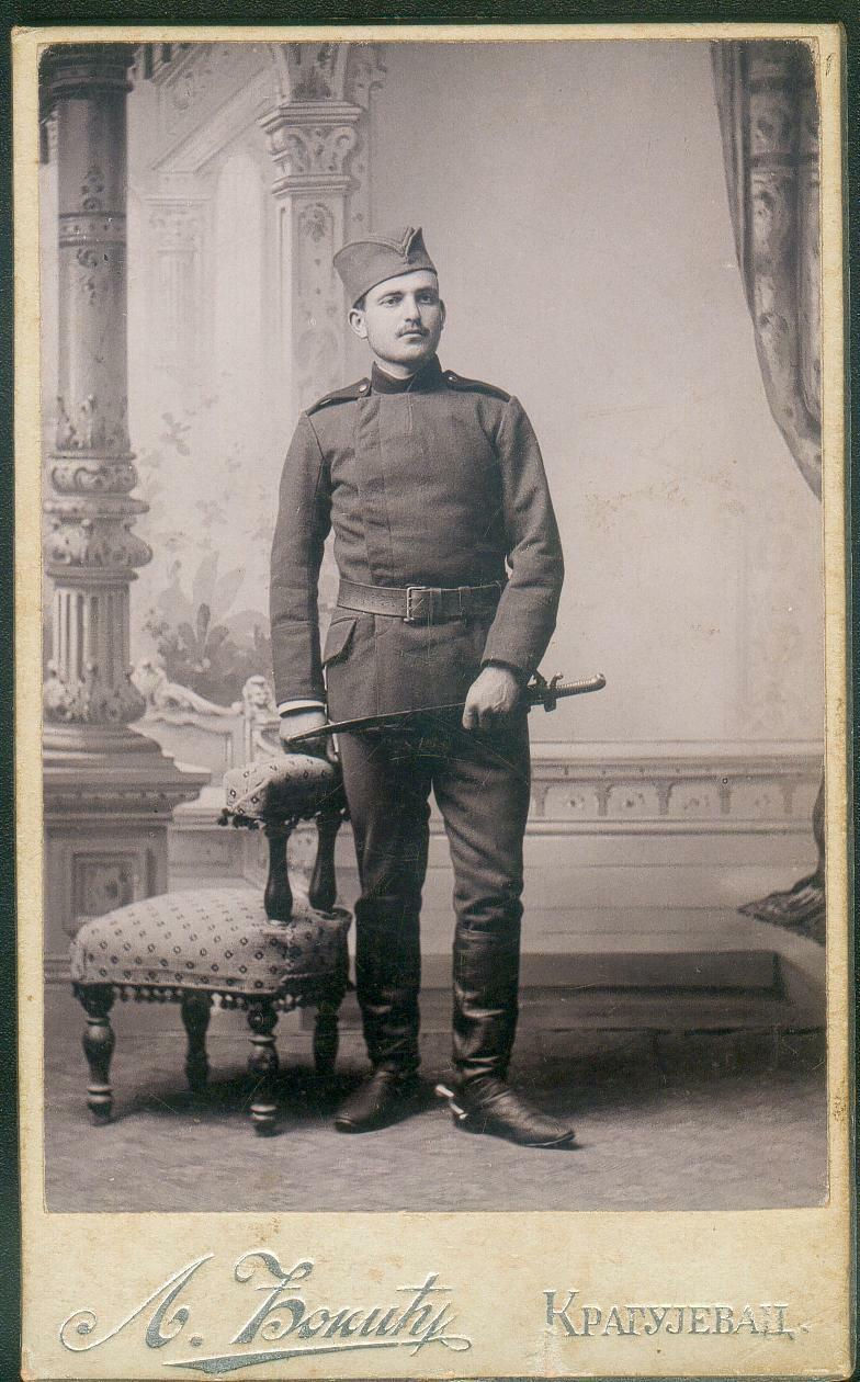 Serbian soldier with bayonet- Chassepot or other French yatagan?